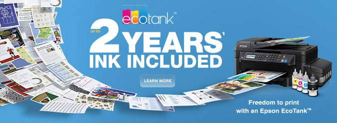 EcoTank Bonus Warranty - Register now