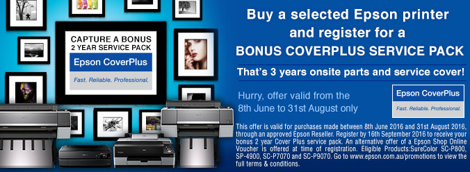 Epson Onsite CoverPlus Promotion